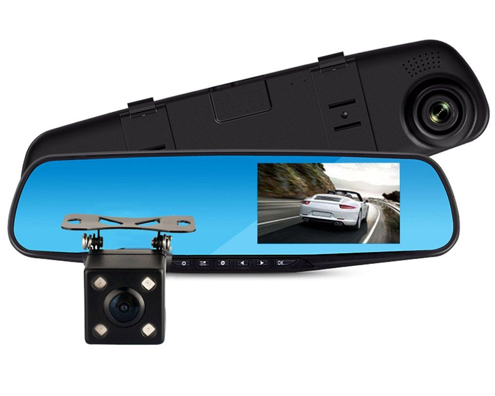 Cameră auto DVR oglindă